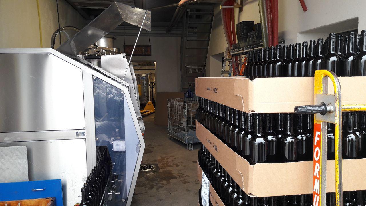 Mise en bouteille du Chasselas 2019 ;-)
